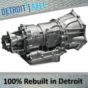 4 Speed Rebuilt Automatic Transmission 4r70w For 2001 2002 2003 Ford Mustang