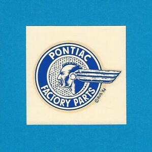 Vintage Original 1964 Ed Roth pontiac Factory Parts Chief Hot Rod Decal Art