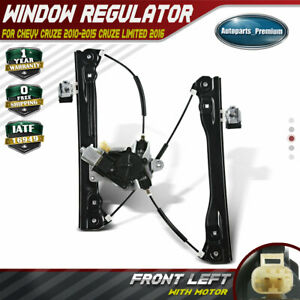 Window Regulator W motor 2pin For Chevy Cruze 2011 2015 Cruze Limited Front Left