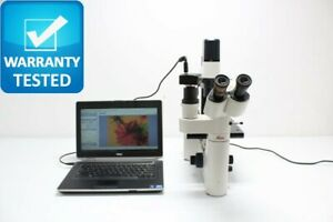 Leica Dm Il Dmil Inverted Phase Contrast Microscope