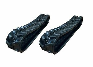 2 Pc Rubber Track 180x72x37 Kubota K008 3 Mini Excavator