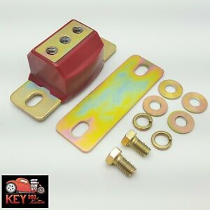 Polyurethane Turbo 350 400 700r4 Transmission Mount Red Chevy Gm 2wd Automatic