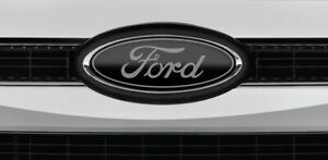 Ford Models Black M Silver Logo Overlay Decals 3pc Kit Read The Description