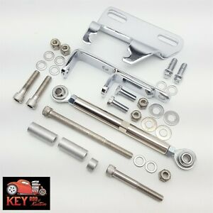 Small Block Chevy Chrome Air Compressor Bracket A C Sanden 508 Sbc Lwp 350 400