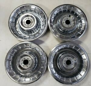 4 1956 Cadillac Hub Caps Hubcaps Wheel Covers