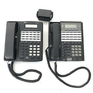 2 At t Lucent Model 854 954 4 line Intercom Business Conference Speaker Phone
