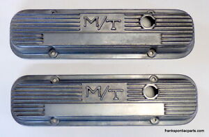 1963 79 Pontiac V8 M t Mickey Thompson Aluminum Valve Covers140r 58b 350 400 455