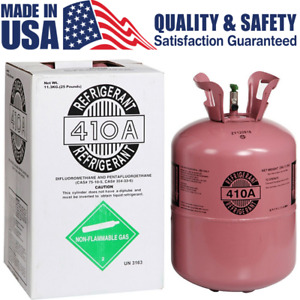 R410a Refrigerant 25lb Tank New Factory Sealed Lowest On Ebay Virgin