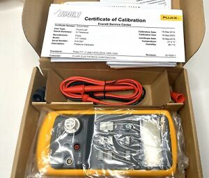 New Fluke 717 1000g Pressure Calibrator 0 To 1000 Psi 05 Accuracy 9 19 Calib