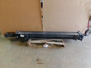 Atlas Hydraulic Cylinder H060bef203 6 Bore 67 625 Stroke 2000 Psi Paper Mill