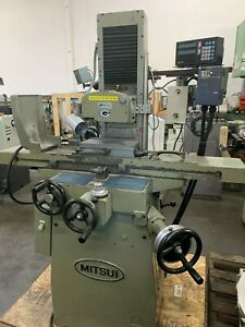 Mitsui Msg 200dh 6 X 12 Precision Surface Grinder With Dro