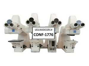Carl Zeiss Axiotron Meg System Inspection Microscope Lot Of 4 Incomplete As is