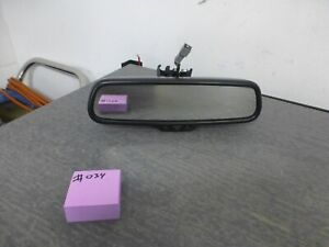 2006 2010 Audi A4 A6 S4 S6 Oem Rear View Mirror Hidden Compass Dim Black 034