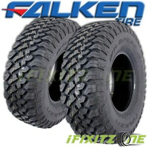 2 Falken Wildpeak M t Truck 35x12 5x20 121q All season snow Mud Terrain Tires