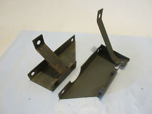 Gpw Jeep Willys Mb Air Cleaner Brackets Original