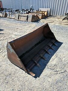 Used 72 Loader Tractor backhoe Skid Steer Bucket
