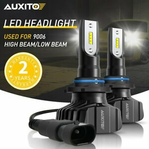 Auxito 9006 Hb4 Led Headlight Low Beam High Power 6000k White Bulb Super Bright