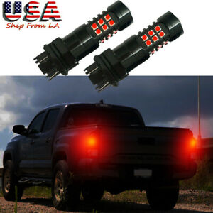 Red Strobe Flashing Warning Led Brake Stop Tail Light For Toyota Tacoma Tundra