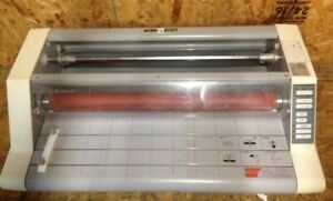 Gbc Heatseal Ultima 65 27 Roll Laminator Grab It Fast