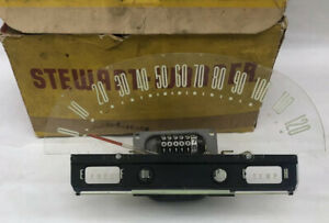 1955 Ford Speedometer New Old Stock Stewart Warner B5a 17255 e