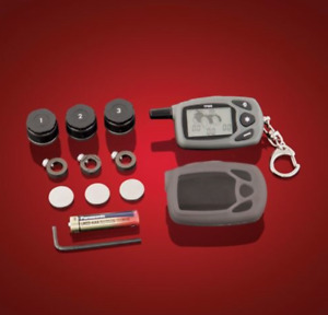 Show Chrome Accessories Wireless Tire Pressure Monitoring System 13 316