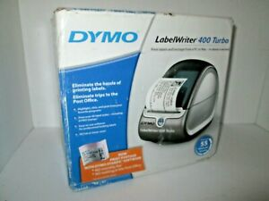 New Dymo Labelwriter 400 Turbo Thermal Printer With Address And Diskette Labels