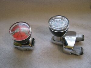 Vintage Style Steering Wheel Spinner Suicide Knob With Thermometer Ford Chevy