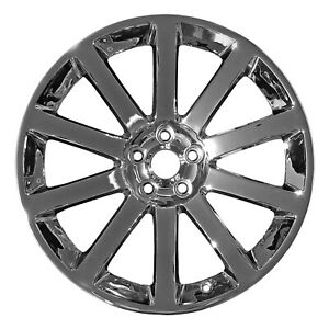 Chrome Plated 10 Spoke 20x9 Factory Wheel 2005 2011 Chrysler 300
