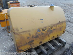 Cat Caterpillar D8 Crawler Dozer Tractor Fuel Tank 125 Gallon Old Vintage