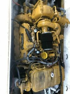 Caterpillar Cat 3208t 320 Hp Marine Diesel Engine Twin Disc 506 2 1 Transmission
