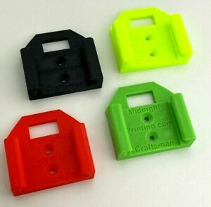 Craftsman Heavy Duty V20 Locking Battery Mount Holder Lithium Ion 3d Many Colors