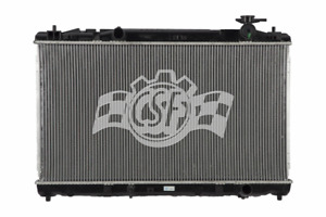New Radiator For 2010 2011 Toyota Camry 4cyl 2 5l Ships Priority Today