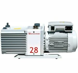 Rebuilt Edwards E2m28 Dual Stage Rotary Vacuum Pump 90 Day Warranty