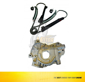 Timing Chain Kit Oil Pump For Ford Excursion Expedition 5 4l Triton