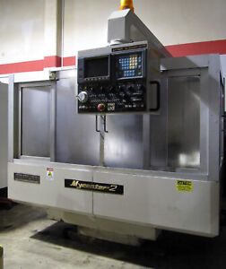 Kitamura Mycenter 2 Cnc Mill 13 x20 Travels 7000 Rpm Fanuc 0 m Control