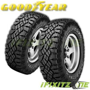 2 Goodyear Wrangler Duratrac All Season Lt265 75r16 Owl All Terrain 3pmsf Tires