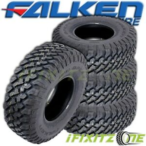 4 Falken Wildpeak M t01 Truck Lt295 70r17 E 121 118q All season snow Mud Tires