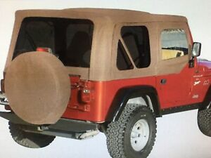 1998 Jeep Wrangler Tj Soft Top Spice Fit To Factory Bow Brackets New Out Of Box