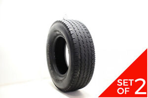Set Of 2 Used 265 70r16 Bfgoodrich Radial Long Trail T a 111t 5 5 6 5 32
