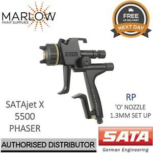 Sata Jet X 5500 Rp Phaser 1 3mm O Nozzle Gravity Spray Gun Clearcoat 1096082