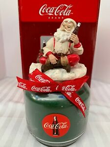 Coca Cola Vintage Decorative Holiday Candle Santa Claus Christmas NIB