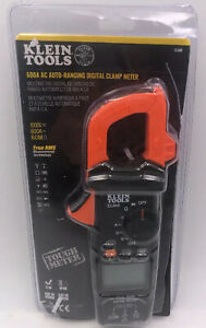 Klein Tools Cl600 600a Ac Auto Ranging Digital Clamp Meter Open Box