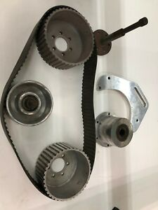 Used Blower Supercharger Drive Kit Pulleys belt snout idler Bbc