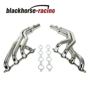 For Fox Body Ls Conversion Swap Headers 79 93 94 04 Ford Mustang 4 8l 5 3l