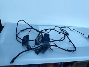 2014 2015 2016 Bmw X5 F15 Sensor Set Front Bumper Cover Wire Harness Oem
