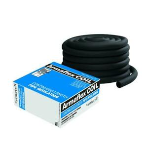 Continuous Coil Pipe Insulation 3 4 In X 1 2 In X 75 Ft Maximize Energy Save