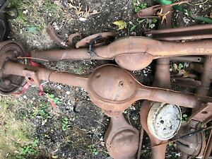 9 Ford Rear End Lot 9 Inch 8 8 Differential Ford Complete And Housings