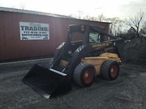 2003 New Holland Ls190 Skid Steer Loader W 2 Speed Only 700 Hours