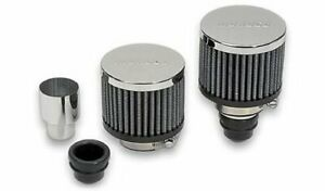 Moroso 68810 Valve Cover Breathers Clamp on Round