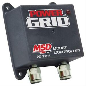Msd Ignition 7763 Boost timing Control Module Power Grid